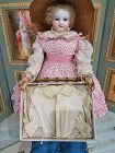 Rare Enfantine Poupee Chemisette with lose Sleeves in Box / 1860