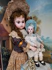 ~~~ Cute French Premier Nursing Bru Bebe with lovely Clothing ~~~
