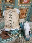 Extraordinary French Large Doll or Childs Corset / France 1900th.