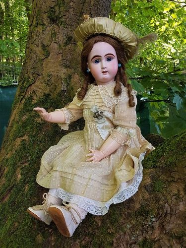 ~~~ Most Beautiful Large size French Bisque Jullien Bebe ~~~