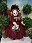 Gorgeous French Bisque Bebe by Emile Jumeau size 8