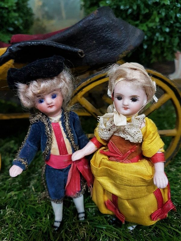 Mademoiselle & Monsieur Mignonette in Superb original Clothing