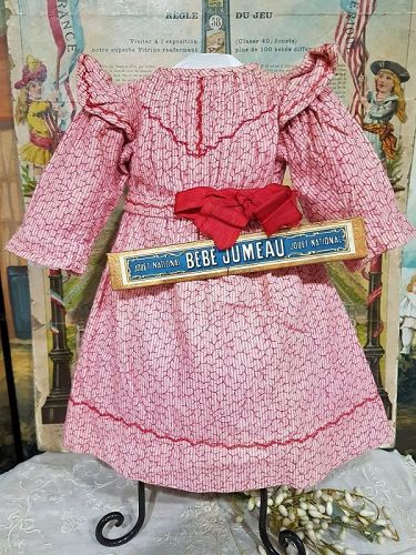 Rare French Bebe Dress attributed to Maison Jumeau