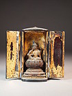 Japanese portable Buddhist Shrine