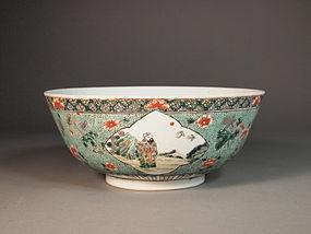 Large Chinese porcelain bowl