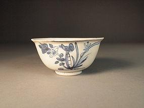Chinese porcelain blue / white bowl