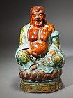 Chinese earthenware Buddha