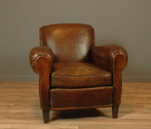 Christophe Solo Vintage French Club Chair  SOLD