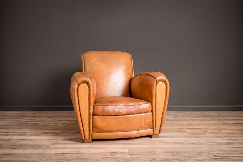 Slope Saintes Solo Leather French Club Chairs