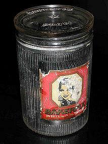 Josephine Baker Bakerfix Glass Jar