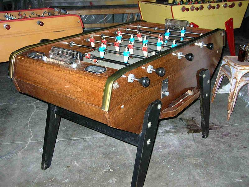 Archives Collectibles Specialty Trocadero - Bonzini foosball table