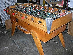 Vintage French Foosball Table Bussoz Bistro Baby-foot
