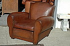 Classic Grand Moustache French Club Chair Single