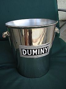 Vintage French Champagne Ice Bucket Duminy