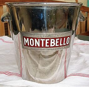 Vintage French Champagne Ice Bucket Montebello