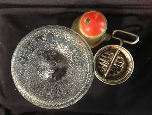 Federal Tool Co. Turn Key Kitchen Nut Chopper Grinder & Measuring Lid
