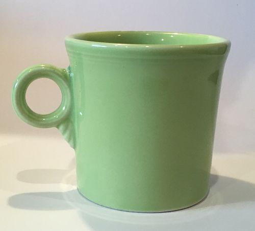 Vintage Homer Laughlin Fiesta FiestaWare Chartreuse Mug