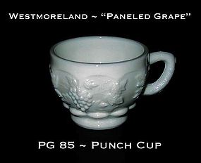 "Westmoreland ""Paneled Grape"" PG 85 Punch Cup"