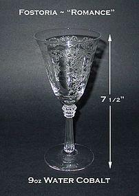 "Fostoria ""Romance"" 9oz Water Goblet"