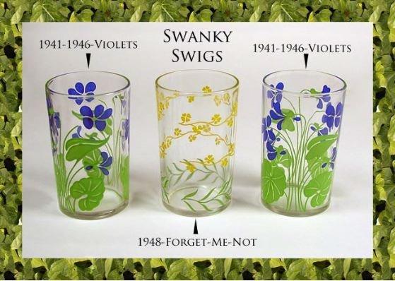 Kraft Foods Swanky Swigs 3 1941-1946 Violets-1948 FMN