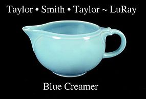 Taylor Smith Taylor LuRay Blue Creamer