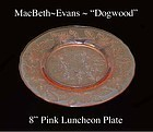MacBeth-Evans 3-THREE Dogwood 8� Luncheon Plates