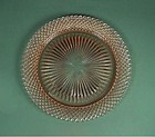 Hocking Miss AMerica Pink 10 1/4 inch Dinner Plate