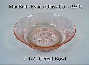 """MacBeth-Evans Dogwood Pink 5 1/2"""" Cereal Bowl"""
