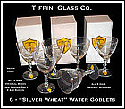 Tiffin Glass 20pc Set w/Original Boxes and Labels