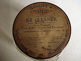 Hazel Atlas Jar Orig E-Z Cleaner Lid Stanley Product