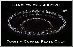 Candlewick ~  400/153 ~  Cupped Base Plate Only