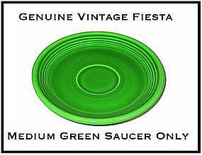 HLC Fiesta Medium Green Saucer Only ~ Super!