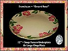 "Franciscan Desert Rose ~ 12"" Chop/UnderPlate"