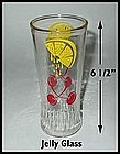 Lemons and Cherries Ice Tea ~ Jelly Glasses From Stores