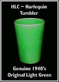 HLC Harlequin Original Water Green Tumbler