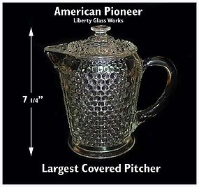 American Pioneer Liberty Works 7 inch Covered Jug