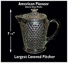 American Pioneer Liberty Works 7 inch Covered Jug