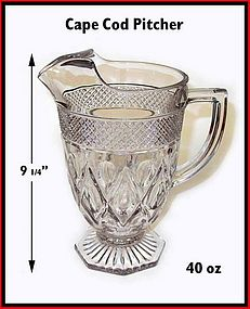 Imperial Cape Cod 40 oz Footed Pitcher