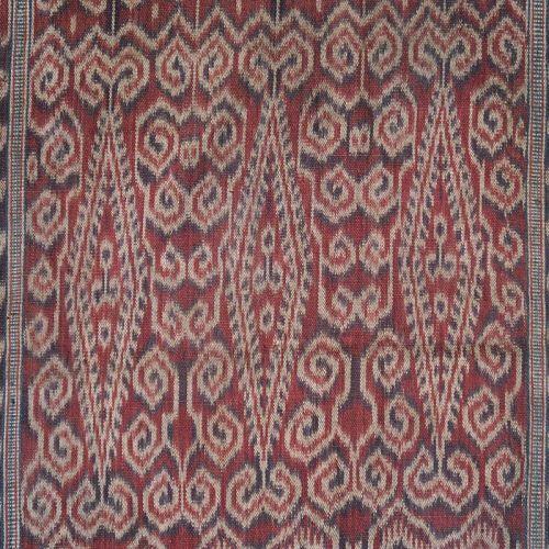 Kalimantan   early 20th c ikat skirt (kain kebat)   Indonesia