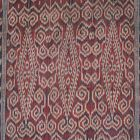 Kalimantan | early 20th c ikat skirt (kain kebat) | Indonesia