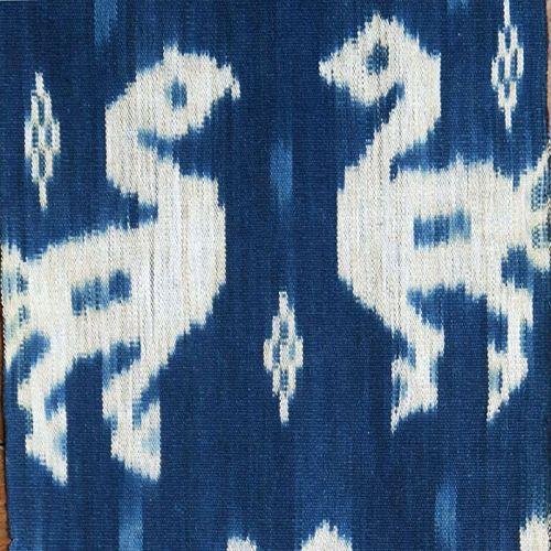 Sumba | indigo ikat men�s headcloth | Indonesia