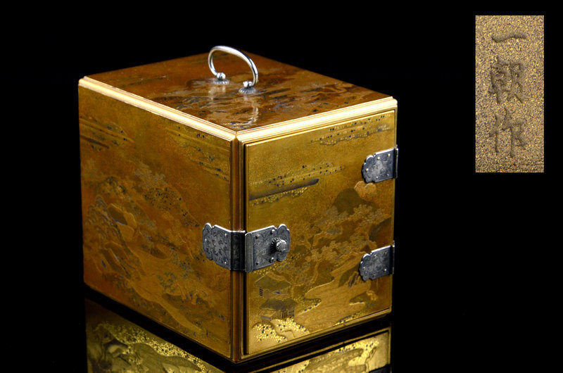 Imperial artist Kawanobe Iccho made incense chest