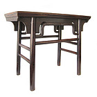 Chinese Antique Jumu (Elm) Wood Painting Table