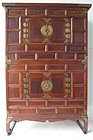 Antique Korean Stacking Clothing Chest