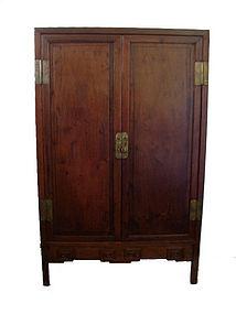 Antique Chinese Hardwood Wardrobe