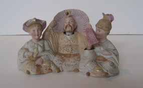 Antique Porcelain Nodding Figures