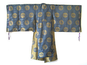 Japanese Antique Silk Priest's Robe