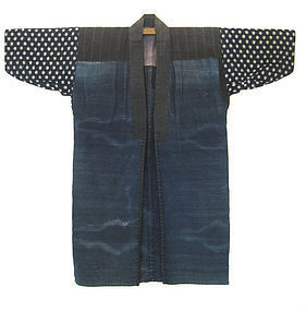 Japanese Antique Indigo Work Coat