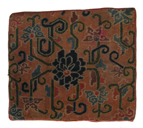Antique Tibetan Wool Carpet