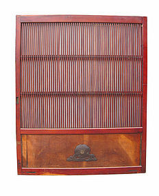 Japanese Antique Large Slatted Kura Door